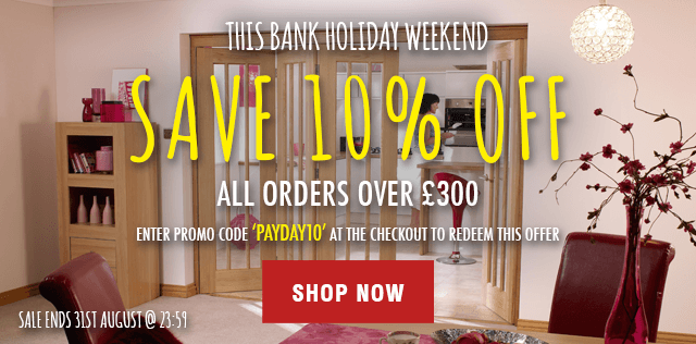 Bank Holiday PAYDAY Sale - End of August Sale 2015