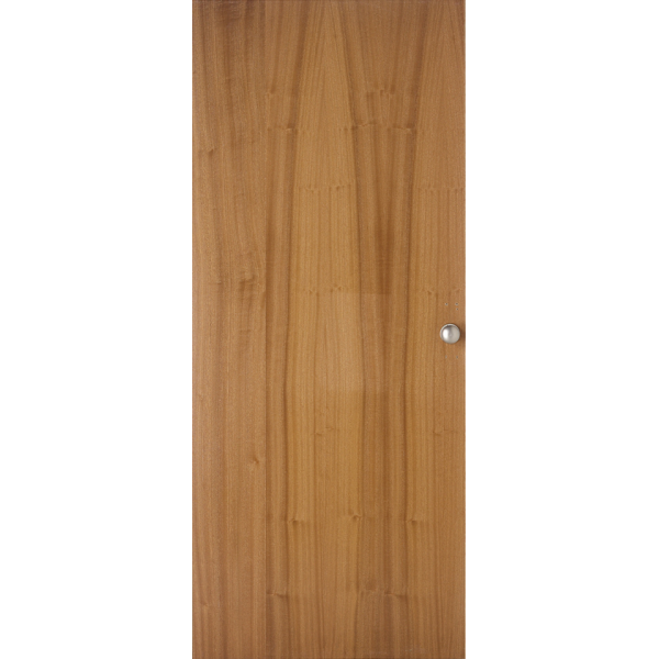 Jeld wen sapele real wood over veneer flush door for Wood veneer garage doors