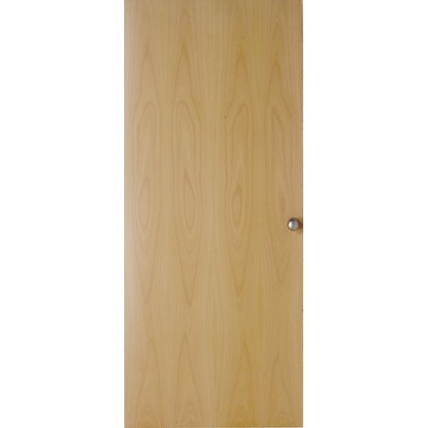 Jeld wen internal beech foil veneer flush door leader for Wood veneer garage doors