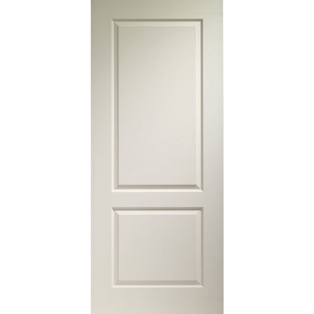 Xl joinery internal white moulded caprice 2 panel door for Moulded panel doors