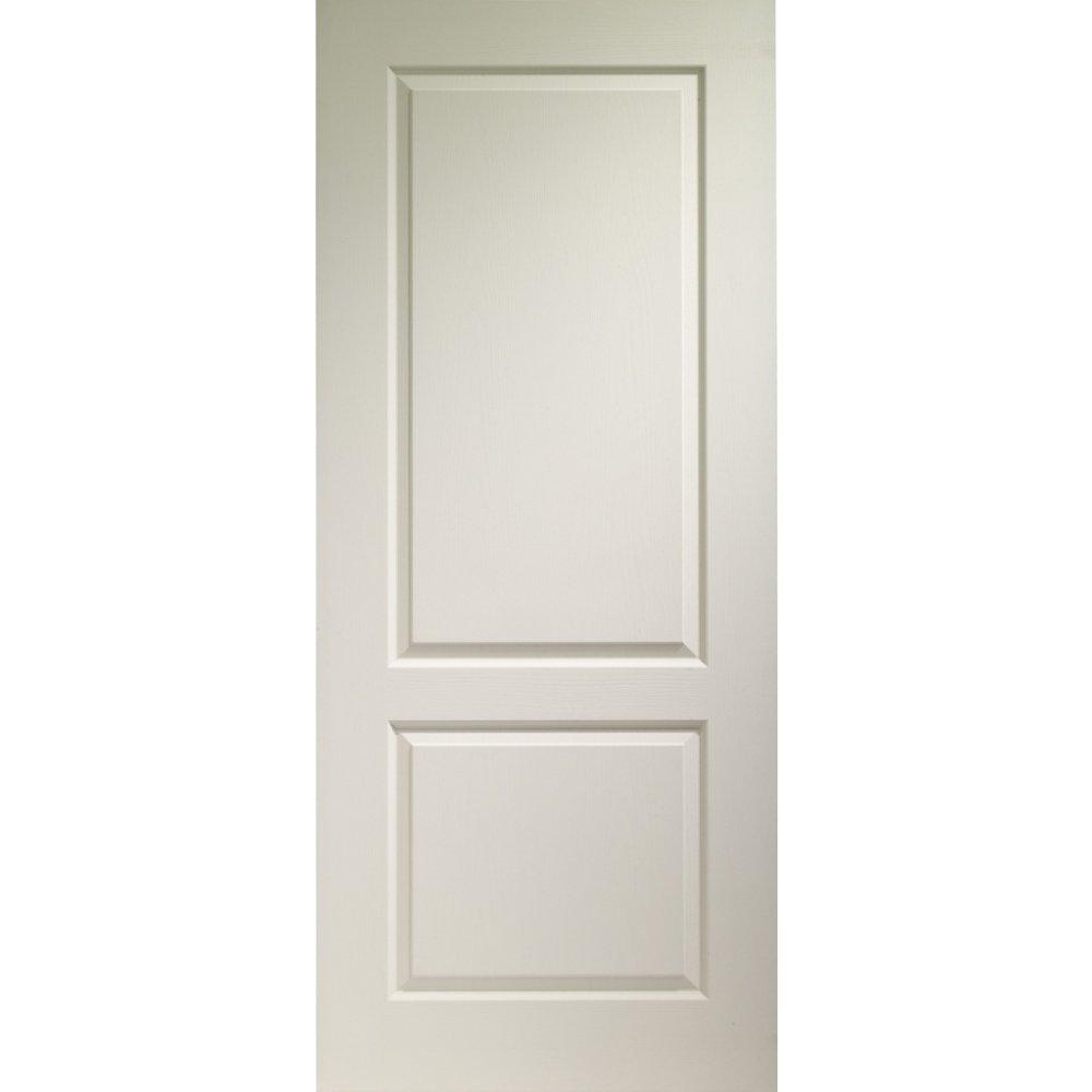 Xl joinery internal white moulded caprice 2 panel door for Doorway doors