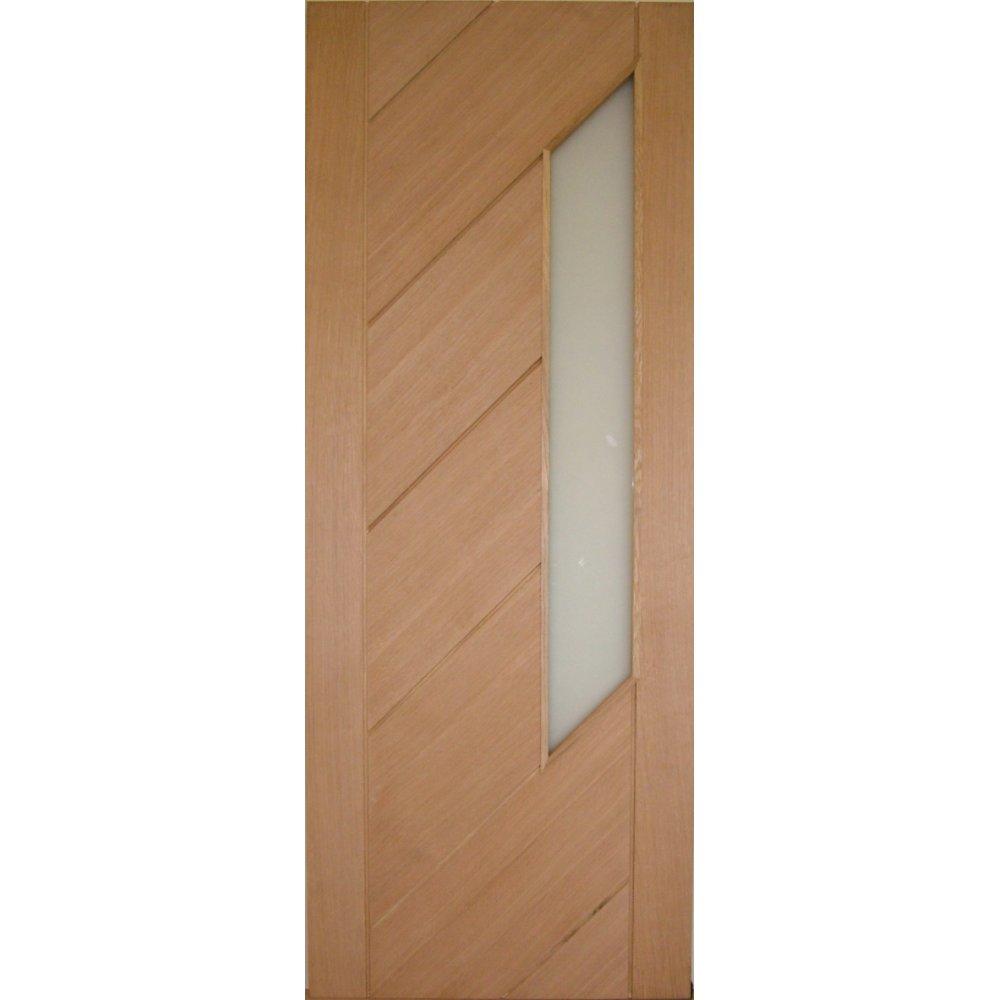 internal oak monza glazed door. Black Bedroom Furniture Sets. Home Design Ideas
