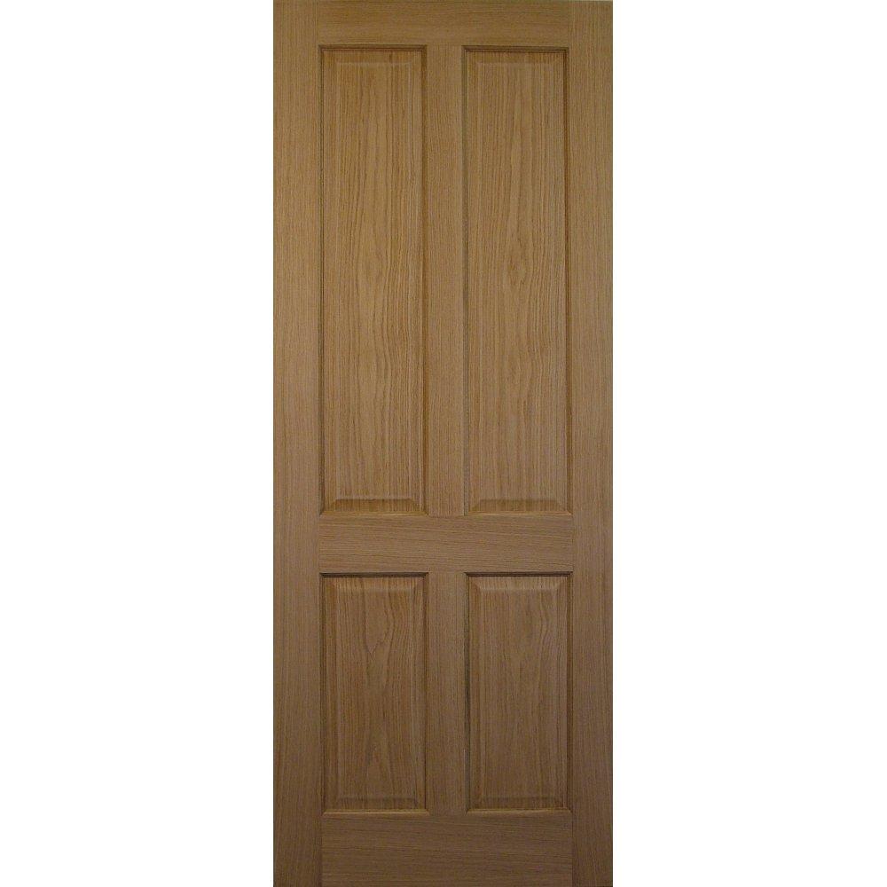 Internal victorian style oak 4 panel door in stock for for Victorian doors