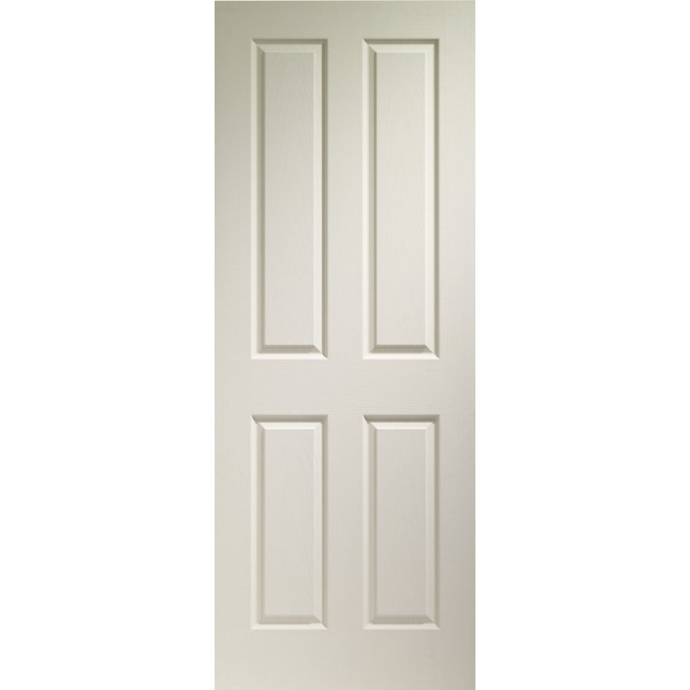 Xl Joinery Internal White Moulded Victorian 4 Panel Fire