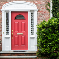 what does the colour of a front door mean