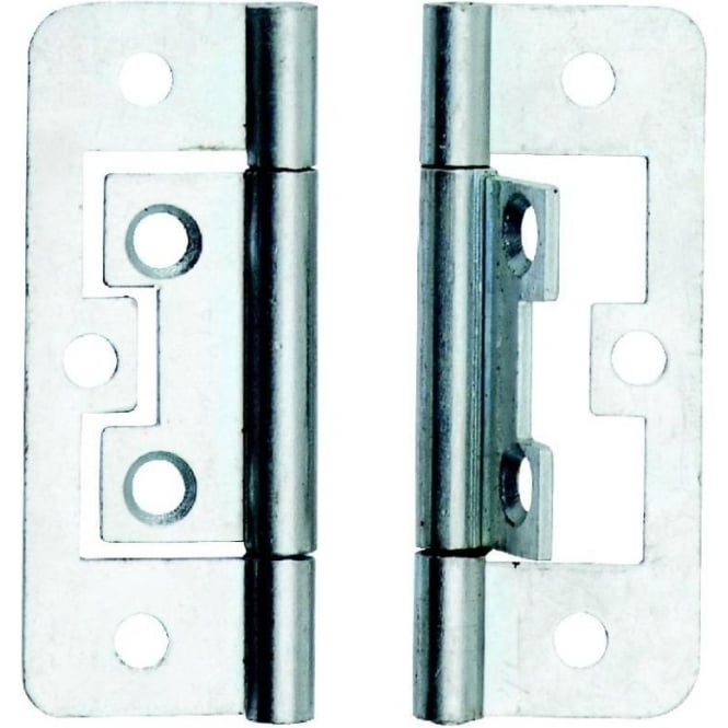 Dale Hardware 100mm Bright Zinc Plated Hurlinge (Pair)