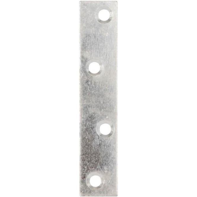 Dale Hardware 100mm Zinc Plated Mending Plates (Pack Of 10)