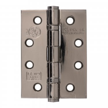 102mm (4'') CE13 Fire Rated Ball Bearing Hinge Pair, Black Nickel (AH1433BN)