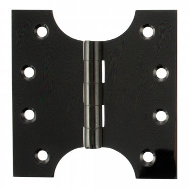 102mm (4'') Parliament Hinge Pair, Black Nickel (APH424BN)