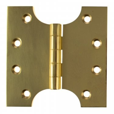 102mm (4'') Parliament Hinge Pair, Polished Brass (APH424PB)