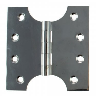 102mm (4'') Parliament Hinge Pair, Polished Chrome (APH424PC)