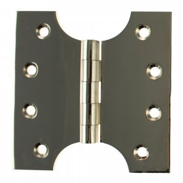 102mm (4'') Parliament Hinge Pair, Polished Nickel (APH424PN)