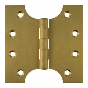 102mm (4'') Parliament Hinge Pair, Satin Brass (APH424SB)