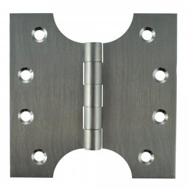 102mm (4'') Parliament Hinge Pair, Satin Chrome (APH424SC)