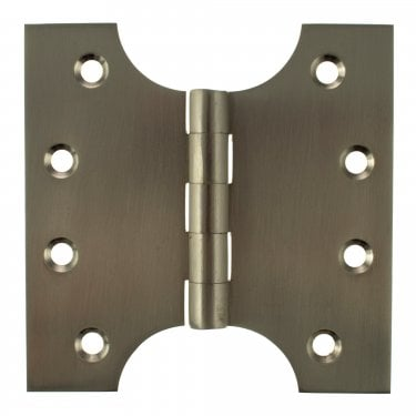 102mm (4'') Parliament Hinge Pair, Satin Nickel (APH424SN)