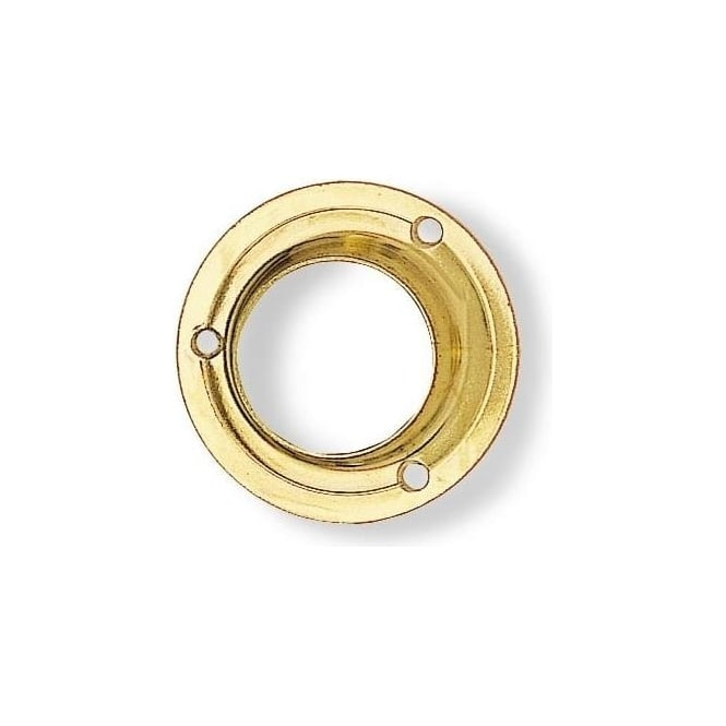 Dale Hardware 19mm Electro Brassed Pressed End Socket