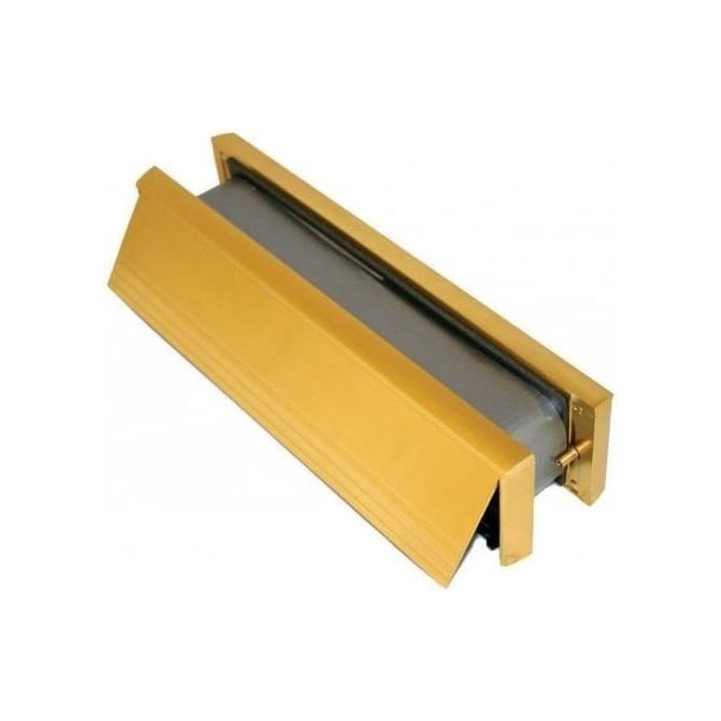 Dale Hardware 272mm Gold Intumescent Letter Box
