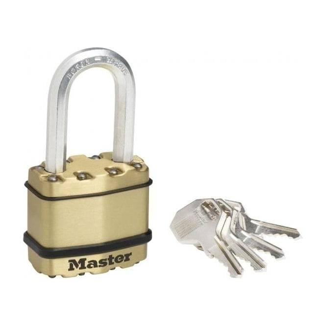 Dale Hardware 45mm Laminated Brass Padlock With Octagonal Shackle