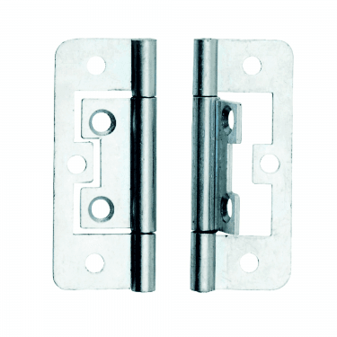 50mm (2'') Zinc Plated Flush Hinge Pair (DX40509)