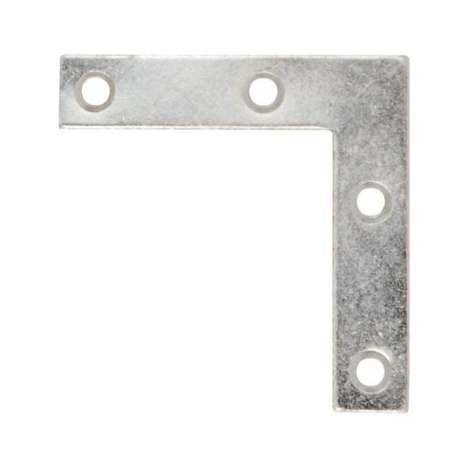 Dale Hardware 63mm Zinc No.324 Corner Brace