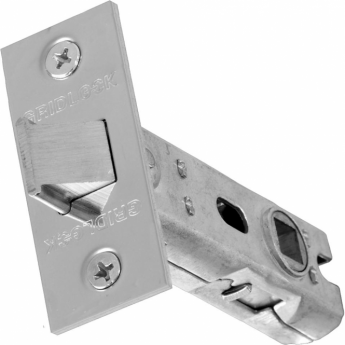Intelligent Hardware 65mm Polished Stainless Steel Tubular Mortice Latch