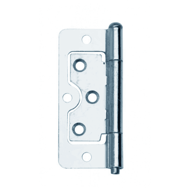 75mm (3'') Zinc Plated Flush Hinge Pair (DX40643)