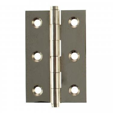 76mm (3'') Butt Hinge Pair, Polished Nickel (ABH3222PN)