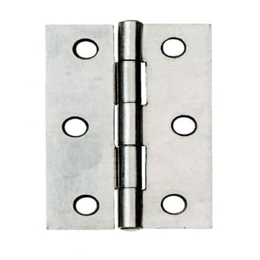 76mm (3'') Fixed Pin Butt Hinge Self-Colour (Pair) (DH001134)