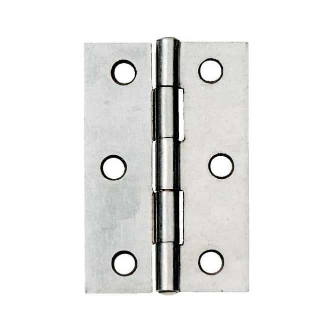 Dale Hardware 76mm Self Coloured Fixed Pin 1838 Butt Hinge (Pair)