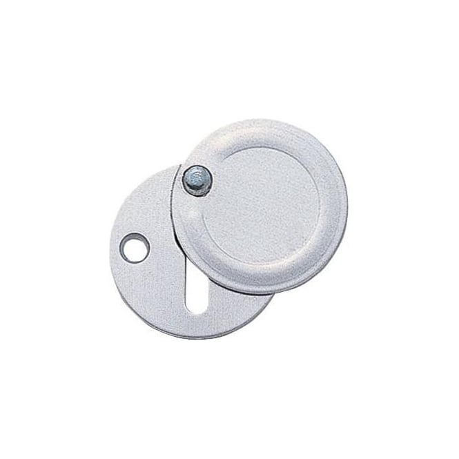 Dale Hardware Aluminium Covered Escutcheon (Pair)