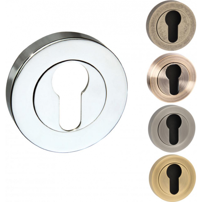 Atlantic Handles Old English Euro Escutcheon