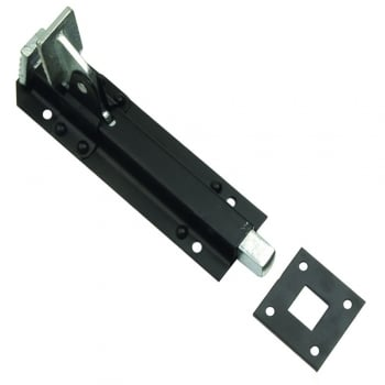 Dale Hardware Black 68 Foot Operated Bolt