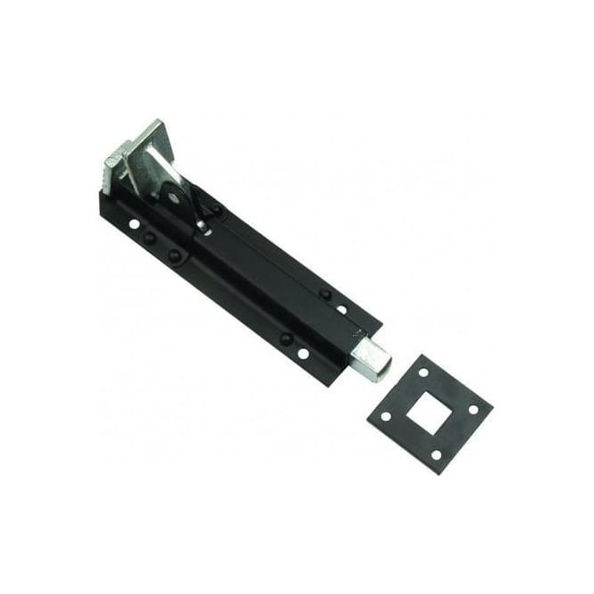 Dale Hardware Black Foot Operated 68 Door Bolt