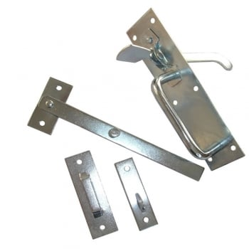 Dale Hardware Bright Zinc Plated Medium 2A Suffolk Latch