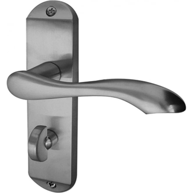 Broadway JV922PC Polished Chrome Bathroom Lever On Backplate Handle
