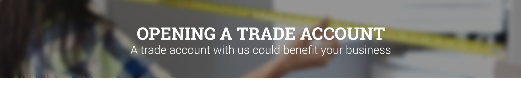 Sign Up For A Trade Account With Leader Doors