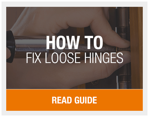 How To Fix Loose Hinges | Leader Doors