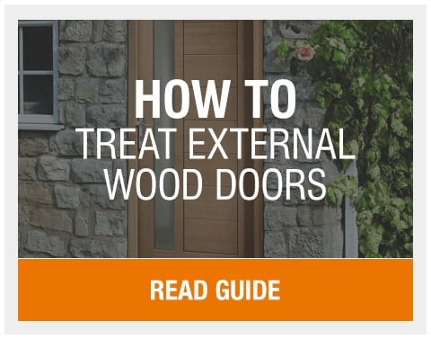 How to Treat an External Wood Door | Leader Doors