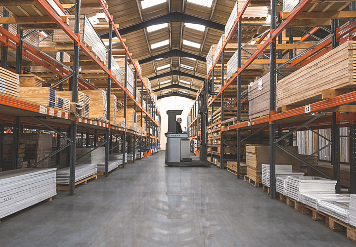 The Leader Stores Warehouse with Over £1 Million Stock