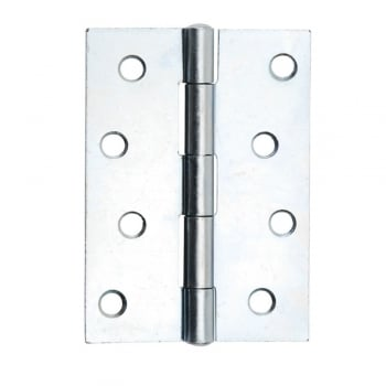 Dale Hardware 102mm (4'') Butt Hinge Bright Zinc Plated (Pair) (DH001137)