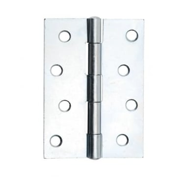 102mm (4'') Butt Hinge Bright Zinc Plated (Pair) (DH001137)