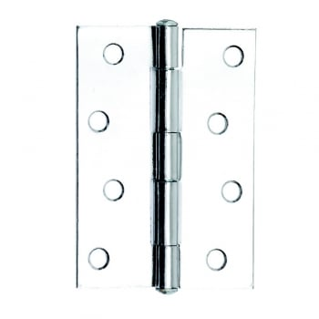 Dale Hardware 102mm (4'') Butt Hinge Polished Chrome (Pair) (DH001129)