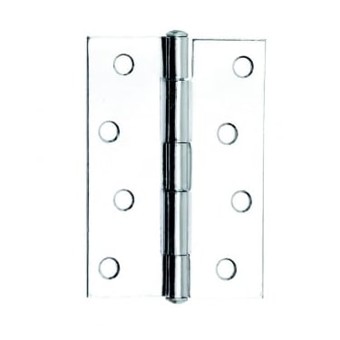 102mm (4'') Butt Hinge Polished Chrome (Pair) (DH001129)