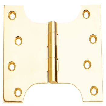 Dale Hardware 102mm (4'') Parliament Hinge Polished Brass (Pair) (DH00447)