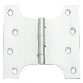 Dale Hardware 102mm (4'') Parliament Hinge Satin Chrome (Pair) (DH004447)