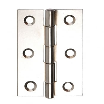 Dale Hardware 76mm (3'') Fixed Pin Butt Hinge Polished Chrome (Pair) (DH001128)