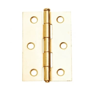 76mm (3'') Loose Pin Butt Hinge Polished Electro Brass (Pair) (DH001124)