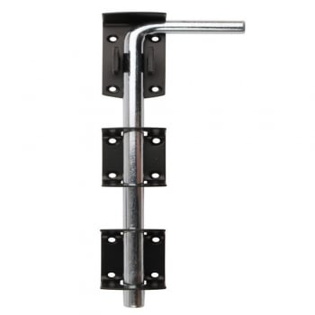 Dale Hardware Black 1260L Garage Door Drop Bolt