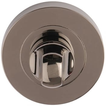 Dale Hardware Black Nickel Round Bathroom Turn & Release (DH003542)
