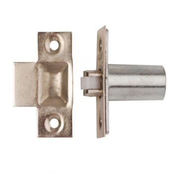 Dale Hardware Nickel Plated Adjustable Roller Catch (DH002220)